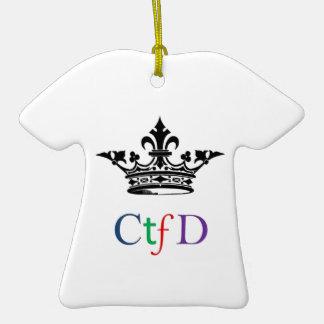Ornamento del navidad de CTFD Adorno De Reyes