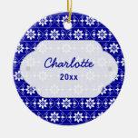 Ornamento del navidad de Edelweiss Ornamento De Navidad