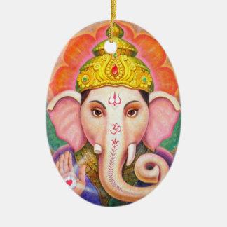 Ornamento del navidad de Ganesha del arte de Buda  Ornamento De Navidad