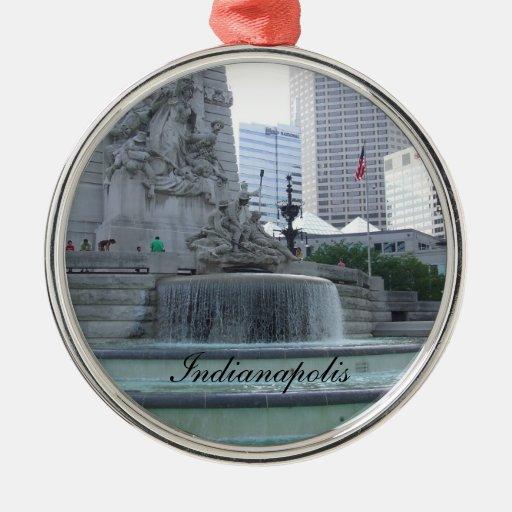 Ornamento del navidad de Indianapolis Ornamente De Reyes
