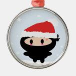 Ornamento del navidad de Kawaii Ninja Ornamentos Para Reyes Magos