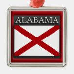 Ornamento del navidad de la bandera del estado de ornamento para arbol de navidad