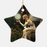 Ornamento del navidad de la bola de la luz de hada adornos de navidad