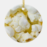 Ornamento del navidad de la bola de palomitas adorno de navidad