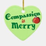 Ornamento del navidad de la compasión ornamente de reyes