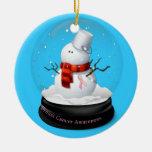 Ornamento del navidad de la conciencia del cáncer ornaments para arbol de navidad