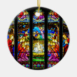 Ornamento del navidad de la escena de la natividad adorno de reyes