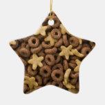 Ornamento del navidad de la estrella del cereal ornamentos de reyes magos