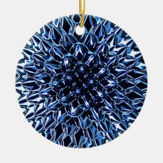Ornamento del navidad de la estrella del metal adorno