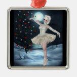 Ornamento del navidad de la fantasía del chica del ornamento para arbol de navidad