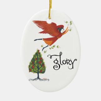 """Ornamento del navidad de la """"gloria"""" ornamento de navidad"""