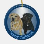 Ornamento del navidad de la margarita y del cacao ornamento para arbol de navidad
