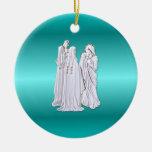 Ornamento del navidad de la natividad adorno para reyes