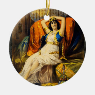 Ornamento del navidad de la ópera del Victorian Ornamento Para Arbol De Navidad