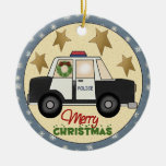 Ornamento del navidad de la policía ornamentos para reyes magos
