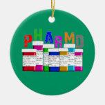 Ornamento del navidad de la prescripción de PhamD Ornato