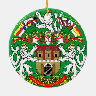 Ornamento del navidad de la República Checa de Ornamento Para Reyes Magos