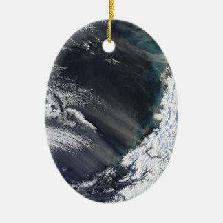 Ornamento del navidad de la tormenta del polvo de  ornaments para arbol de navidad