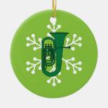 Ornamento del navidad de la tuba adorno para reyes