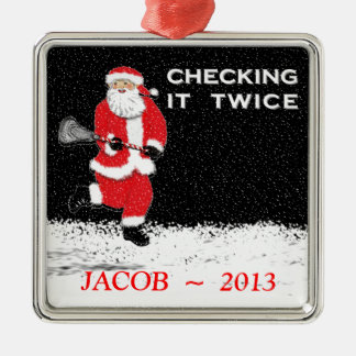 Ornamento del navidad de LaCrosse Adorno