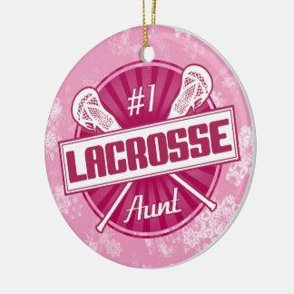Ornamento del navidad de LaCrosse, tía de #1 LaCro Ornatos