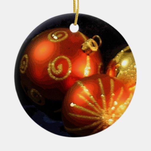 Ornamento del navidad de las bolas del vintage del ornamento para arbol de navidad