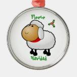 Ornamento del navidad de las ovejas ornato
