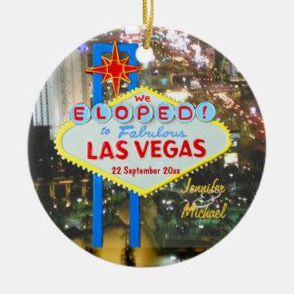 Ornamento del navidad de Las Vegas