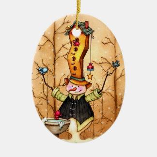 Ornamento del navidad de los amigos del muñeco de  ornamento de navidad
