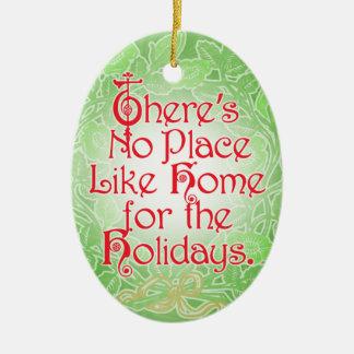 Ornamento del navidad de mago de Oz Adorno Navideño Ovalado De Cerámica