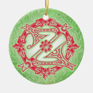 Ornamento del navidad de mago de Oz Adorno Navideño Redondo De Cerámica
