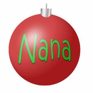 Ornamento del navidad de Nana Esculturas Fotográficas
