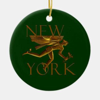 Ornamento del navidad de Nueva York Adorno De Reyes