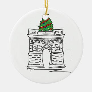 Ornamento del navidad de Nueva York - Washington S Ornamento De Reyes Magos