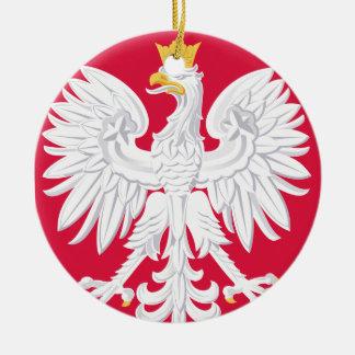 Ornamento del navidad de POLAND* Eagle Adornos