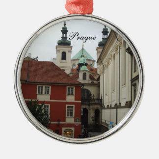 Ornamento del navidad de Praga Adorno De Navidad