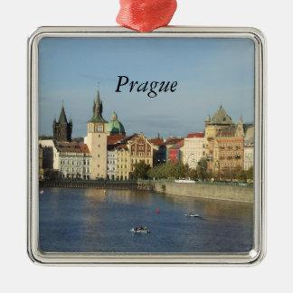 Ornamento del navidad de Praga Ornamentos De Reyes