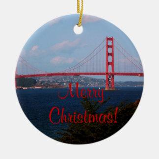 Ornamento del navidad de puente Golden Gate Adorno Para Reyes