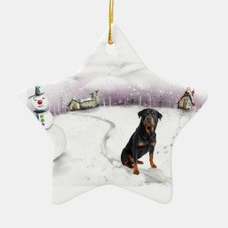 Ornamento del navidad de Rottweiler Ornamente De Reyes
