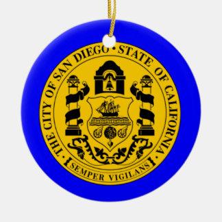 Ornamento del navidad de San Deigo Adorno De Reyes