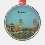 Ornamento del navidad de Venecia Italia Adorno Para Reyes
