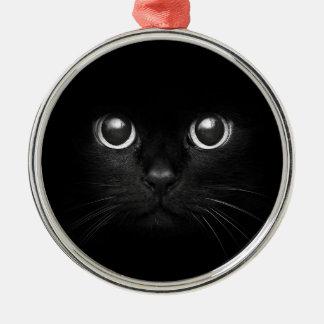 Ornamento del navidad de Yule del gato negro Ornamento Para Reyes Magos