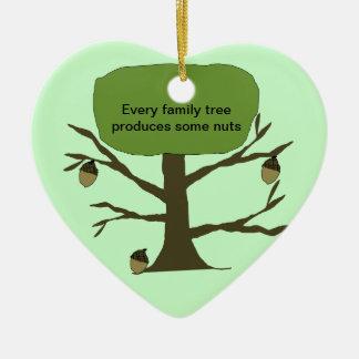Ornamento del navidad del árbol de familia adorno de reyes