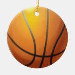 Ornamento del navidad del baloncesto de Customizea Adorno Para Reyes