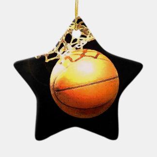 Ornamento del navidad del baloncesto ornamentos para reyes magos