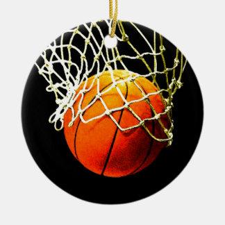 Ornamento del navidad del baloncesto adorno