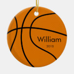 Ornamento del navidad del baloncesto ornamento para arbol de navidad