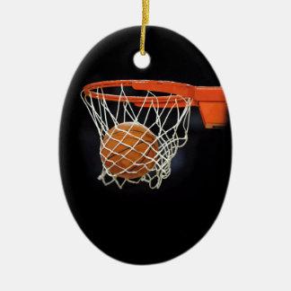 Ornamento del navidad del baloncesto ornatos