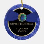 Ornamento del navidad del botón de la pluma del pa ornamentos de reyes magos