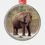 Ornamento del navidad del elefante africano ornaments para arbol de navidad